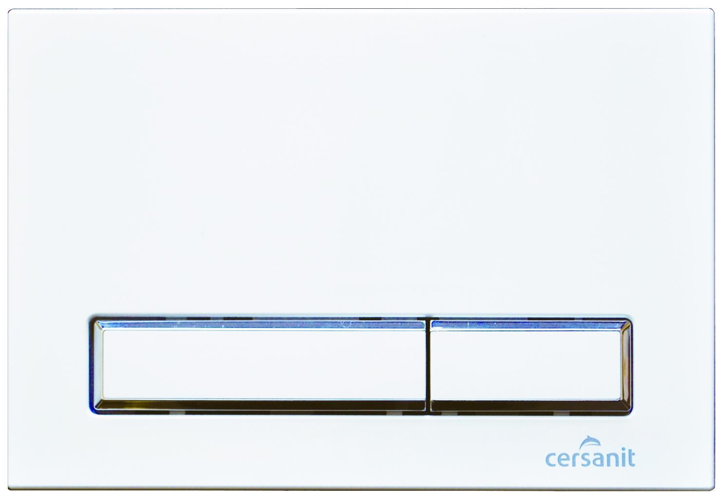 CERSANIT - TLAČIDLO K systémom HI-TEC Blick BIELE (K97-256)