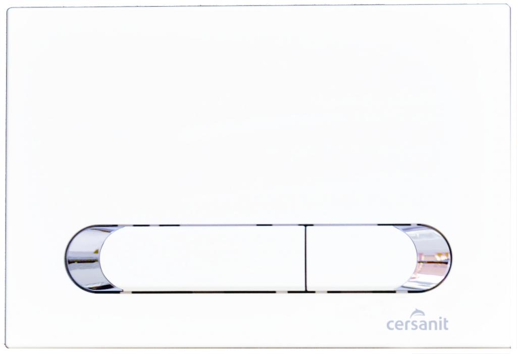 CERSANIT - TLAČIDLO K systémom HI-TEC TEAR BIELA (K97-259)