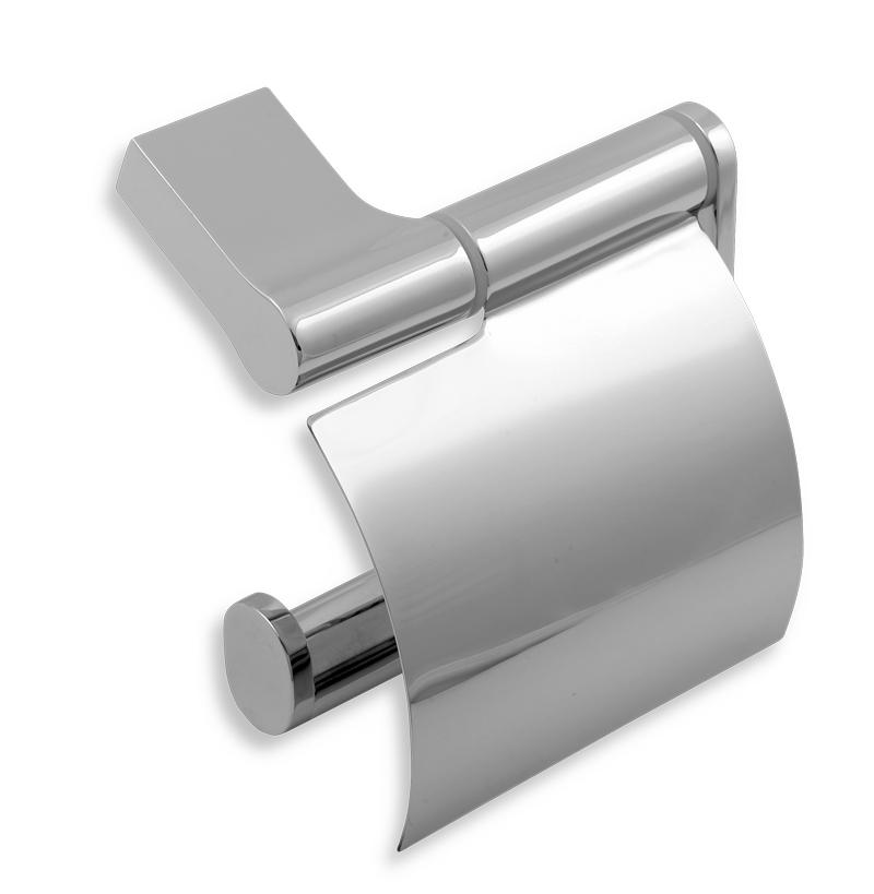 NOVASERVIS - Záves toaletného papiera s krytom Novatorre 8 chróm (0838,0)