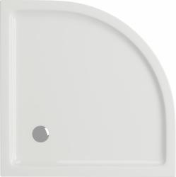 Sprchová vanička TAKO 80x4, štvrťkruh CW (S204-001), fotografie 4/2