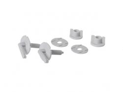 CERSANIT - Súprava skrutiek pre polypropylénové sedátko MARKET (K99-0044)