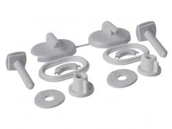 CERSANIT - Umelohmotné skrutky pre polypropylénové sedátko MERIDA (K99-0004)