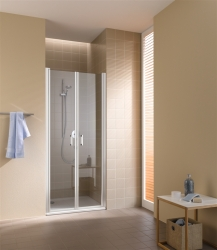 Kermi Kyvné dvere Cada XS PTD 07520 710-760 / 2000 strieborná vys.lesk Serig.CC Clean Kyvné dvere (CCPTD07520VVK)