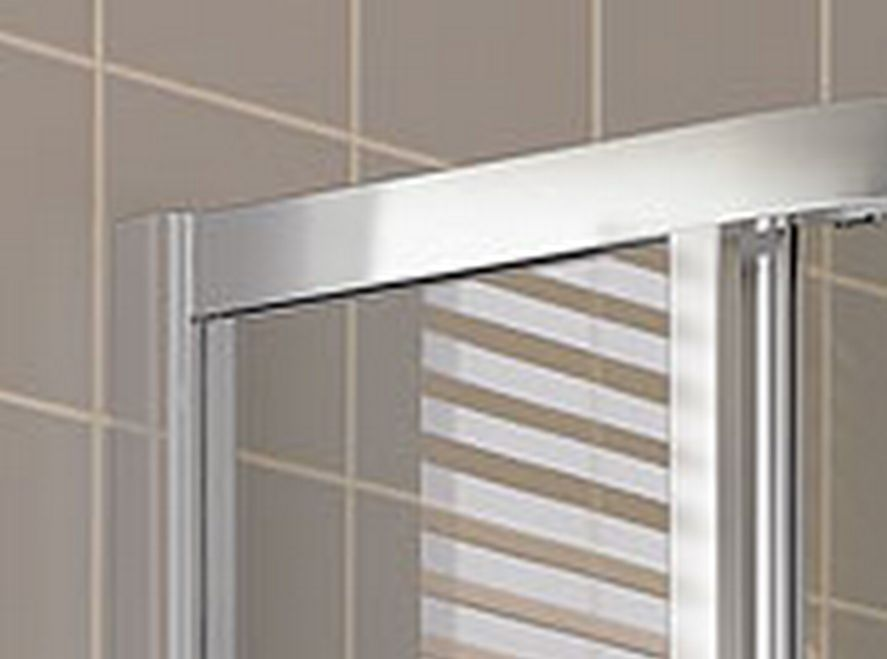 Kermi Štvrťkruh Cada XS R55 08020 775-800 / 2000 biela ESG číre Clean Štvrťkruh (posuvné dvere) (CCR55080202PK)