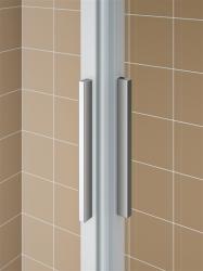 Kermi Štvrťkruh Cada XS R55 10120 975-1000x2000 biela ESG číre Clean Štvrťkruh (posuvné dvere) (CCR55101202PK), fotografie 10/6