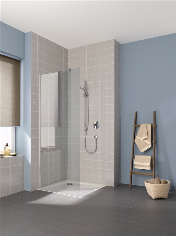 Kermi Bočná stena Cada XS TWF 10020 975-1000x2000 biela ESG číre Clean bočná stena voľne stojaca (CCTWF100202PK)
