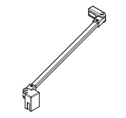Kermi Stabilizátor Cada XS SSVSS Länge 1220 mm biela (ZDSSVSSCC1202K)
