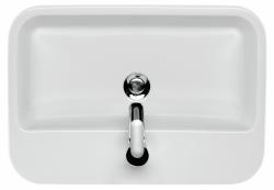 CERSANIT - Umývadlo CASPIA štvorcový 60 s prepadom (K11-0095), fotografie 2/9
