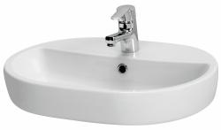 CERSANIT - Umývadlo CASPIA OVAI 60 s prepadom (K11-0099)
