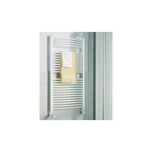 KERMI KERMI - LR0100800452XXK / B-20 R, koupelnový radiátor zahnutý 800x450mm, bílá