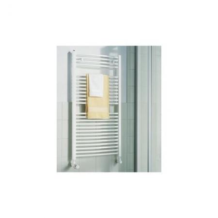 KERMI - LR0100800452XXK / B-20 R, koupelnový radiátor zahnutý    800x450mm, bílá