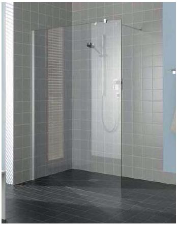 Kermi Boční stěna Atea TWF 09020 880-905/2000 stříbrná vys.lesk ESG čiré boční stěna volně stojící  (ATTWF09020VAK)
