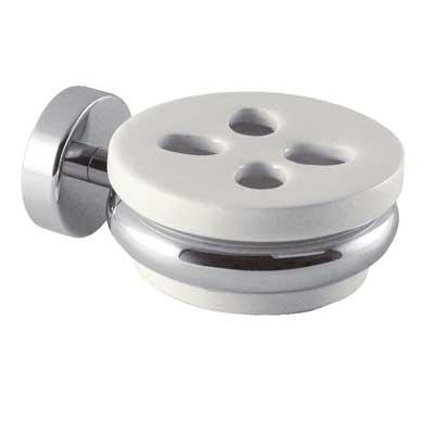 TRES - MAX - Nástenný keramický držiak na zubní kefky (5616361653)