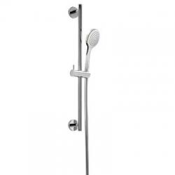 TRES - Sprchová sada priemer 19 mm, dĺžka 850 mm Flexi hadica SATIN (06192801)