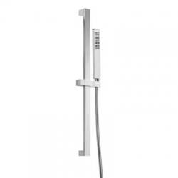 TRES - Sprchová súprava, proti usadeniu vodného kameňa PROJECT-SLIM Materiál Mosadz, dĺžka 909 mm Flexi (03452702)