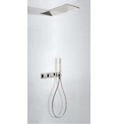 TRES TRESMOSTATIC Podomietkový termostatický sprchový set dvojcestný (20725202AC)
