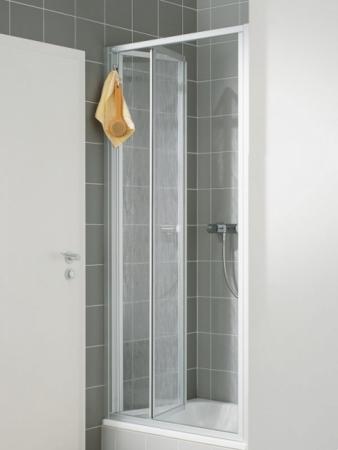 VÝPRODEJ - Zalamovací dveře-výplň bílý plast (N2FTD1001822K)
