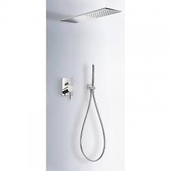 TRES Podomietková sprchový set MAX s uzáverom a reguláciou prietoku (06251601)