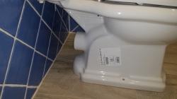 KERASAN - RETRO WC kombi misa 38,5x41x72cm, zadný odpad (101301), fotografie 2/4