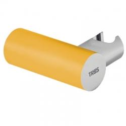 TRES - TYAE A SPRCHA Nastaviteľný guľatý držiak, kovový Materiál mosadz (06183901AM)
