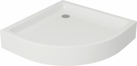 Sprchová vanička TAKO 80x16, štvrťkruh, BUILT-IN-PANEL CW (S204-003)
