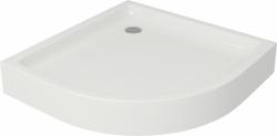 CERSANIT - Sprchová vanička TAKO 90x16, štvrťkruh, BUILT-IN-PANEL CW (S204-004)