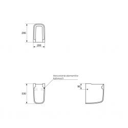 CERSANIT - Polostĺp OLIMPIA (K10-006), fotografie 2/2