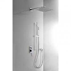 TRES - TRES: Podomietkový sprchový set s uzáverom a reguláciou prietoku (20218007)