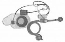 CERSANIT - Podomietkový pisoárový splachovač na batériou 6V (K97-121)