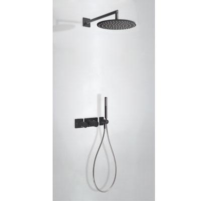 TRES - STUDY COLORS Podomietkový termostatický sprchový set s uzáverom a reguláciou prietoku (20735201TNE)
