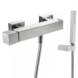 TRES jednopáková sprchová batéria, ručná sprcha, držiak, hadice (107167)