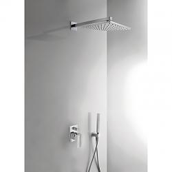 TRES Podomietková sprchový set CUADRO s uzáverom a reguláciou prietoku (106980)