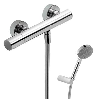 MAX-TRES Sprchová batéria, ručná sprcha, nastaviteľný držiak, hadice (06116701)