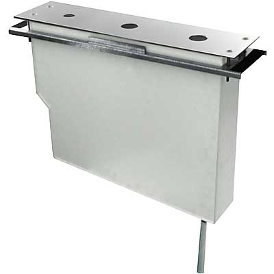 TRES - Uzatváracie ventily Set nádrže pre stojankové vaňové batérie, jednoduchá montáž zhora (20324501)