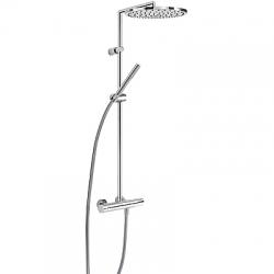 TRES - TRESMOSTATIC Súprava termostatické sprchové batérie MAX, pevná sprcha O 300 (06139301)