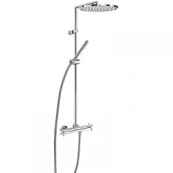 TRES - TRESMOSTATIC Súprava termostatické sprchové batérie, pevná sprcha O 300 mm (06339301)
