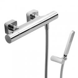 TRES - TRESMOSTATIC Termostatická sprchová batéria, ručná sprcha, držiak, hadice (20016409)