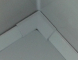 POLYSAN - Lišta okolo sprchovej vaničky 120x100cm, 2x roh, 2x ukončenie (91021), fotografie 6/3