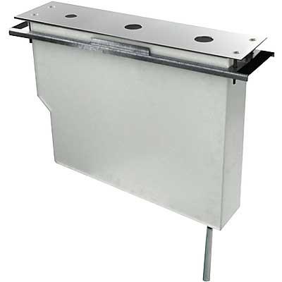 TRES - Uzatváracie ventily Set nádrže pre stojankové vaňové batérie, jednoduchá montáž zhora (189245)
