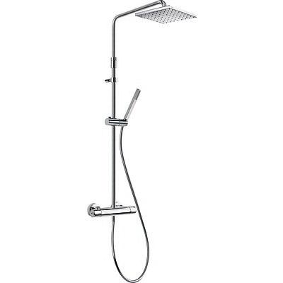 TRESMOSTATIC Súprava termostatické sprchové batérie LEX, pevná sprcha, ručná sprcha, hadica, prepínač (190213)