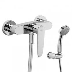 FLAT-TRES jednopáková sprchová batéria, ručná sprcha, držiak, hadice (20416701)