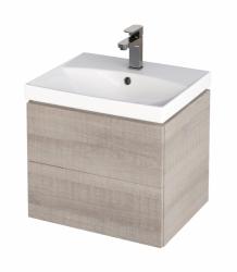 CERSANIT - Skrinka pod umývadlo CITY/ FARE/ COMO/ COLOR/ NATURE/ CLASSIC 50, šedý dub (S584-006)