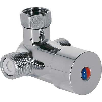 Zmiešavač na dve vody s flexibilnými trubkou pre umývadlové batérie TRESTRONIC, TOUCH-TRES (19250730)