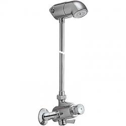 TRES - Zmiešavacia súprava pre sprchu protiľahlé vstupy s nastaviteľnými prevlečnými maticami (112163)