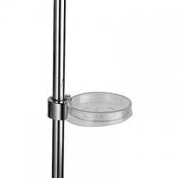 TRES - Mydelnička LUXUS pre tyč Ø 25 mm (9134735VYP)