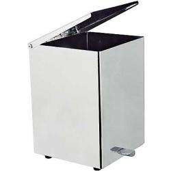 TRES - Cuadro - Nášľapný odpadkový kôš 180x180x250 mm (10763627)