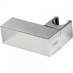 TRES - Nastaviteľný štvorcový držiak, kovový Materiál mosadz (107839)
