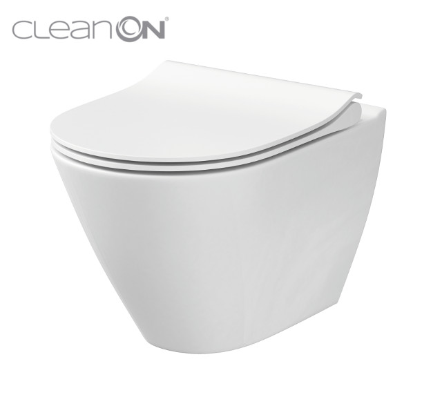 CERSANIT - WC MISA CITY oválny NEW CLEANON (K35-025)
