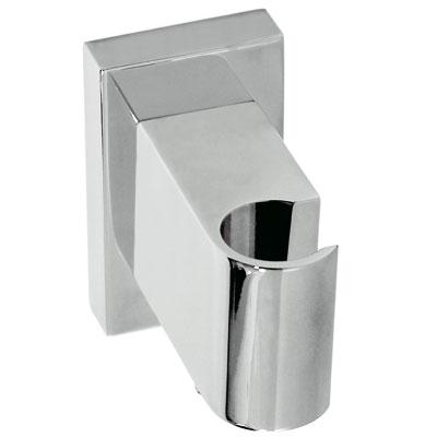 TRES - Úchyt ručnej sprchy so stenovou prípojkou vody s nastaviteľným výstupom pre vodu a spetným ventilom (20718201)