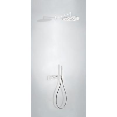 TRES - Podomietkový termostatický sprchový set BLOCK SYSTEM s uzáverom a reguláciou prietoku (2-cestná) (20735201BM)